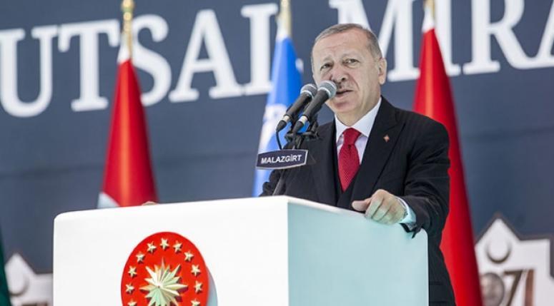 Erdoğan: Türkiye hakkı olanı alacak