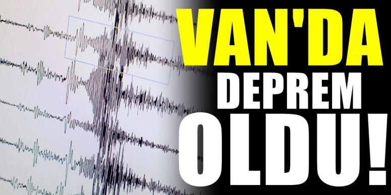 Van'da 4.7 büyüklüğünde deprem...