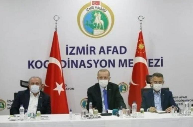 Erdoğan: Evleri en kısa sürede inşa edeceğiz