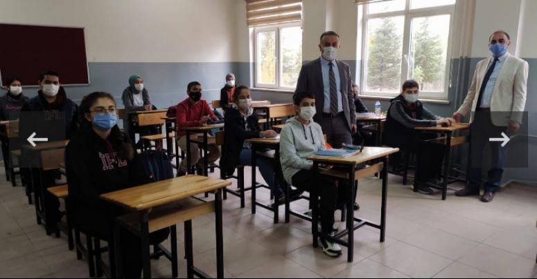 Müdür Şipal'den, okullara ziyaret…