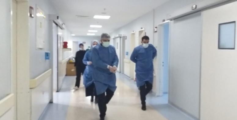 Sünnetçioğlu'ndan, hastane ziyareti...