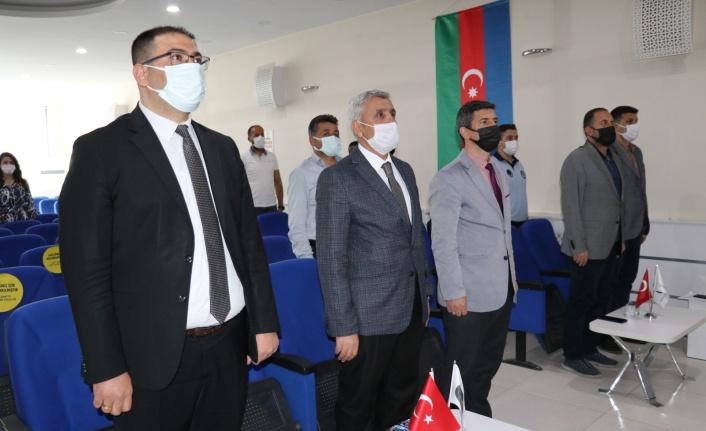 """İpekyolu'ndan """"Azerbaycan'ın Türk tarihindeki yeri"""" konferansı"""