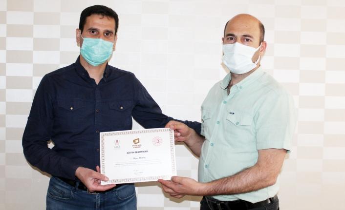 BİK'ten, Vanlı gazetecilere eğitim sertifikası...