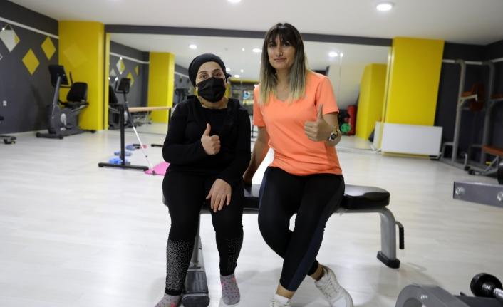 İpekyolu'ndaki spor merkezinden kadınlara ücretsiz hizmet