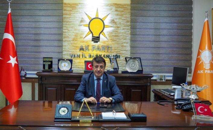 Türkmenoğlu: Atık Su Arıtma Tesisi Van'a hayırlı olsun