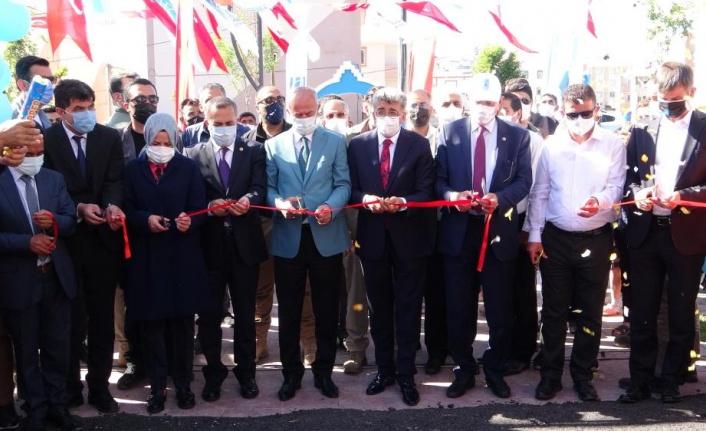 Tuşba Belediyesi'nin 'İbrahim Öngün Parkı' hizmete açıldı