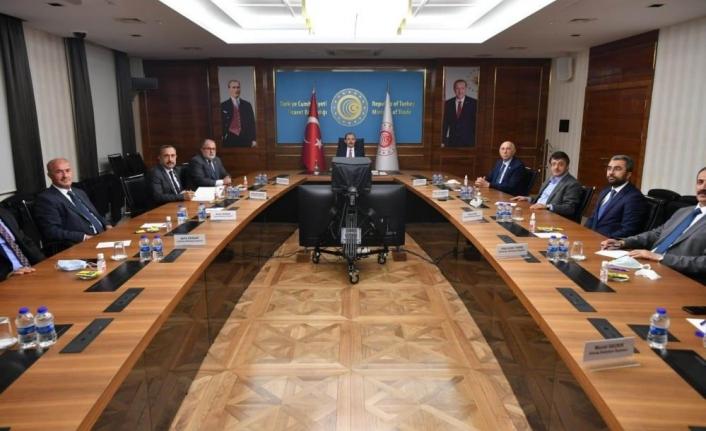 Van heyeti Başkent'te sınır ticaretini konuştu