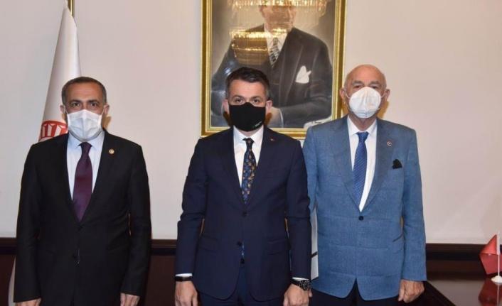 Van Milletvekilleri Bakan Pakdemirli ile görüştü