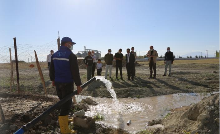 VASKİ, Bardakçı TOKİ'nin su sorununu çözdü