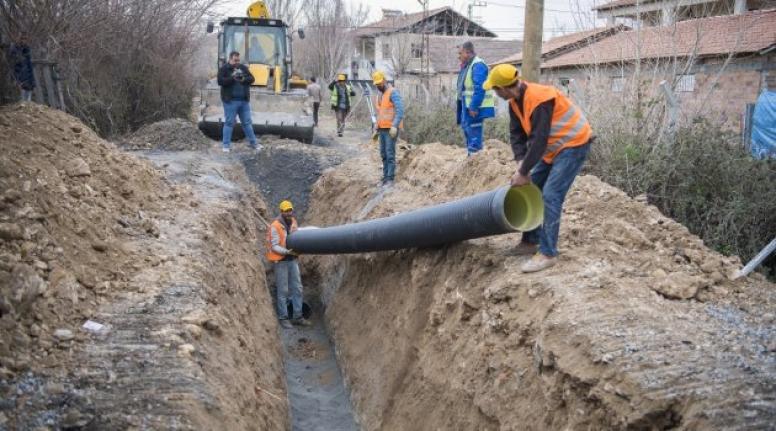 VASKİ kanalizasyon hattı yaptıracak
