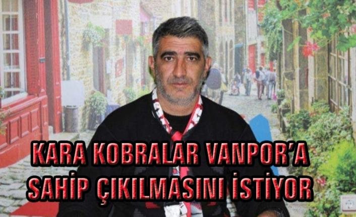 Dülger: Yenitürk ve Vanspor'a sahip çıkalım