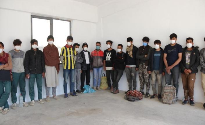 Erciş'te 73 düzensiz göçmen yakalandı