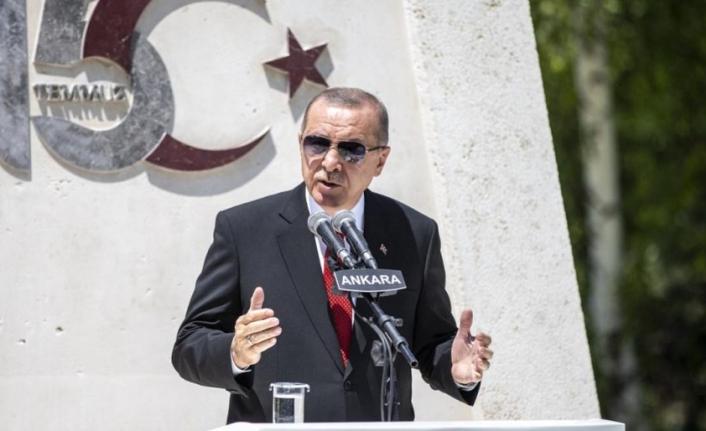 Erdoğan: Şehadete yürümek için tereddüt etmeyecektim