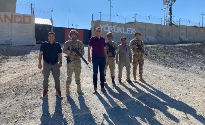 Kaymakam Akbulut'tan Belbuka Üst Bölgesine ziyaret