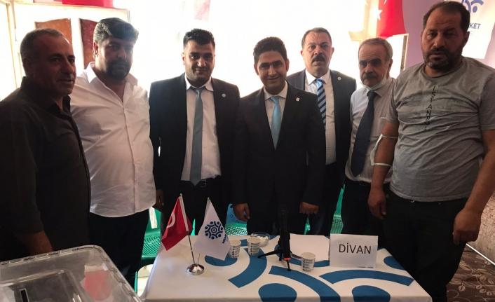 Memleket Partisi Erciş İlçe Başkanı belli oldu