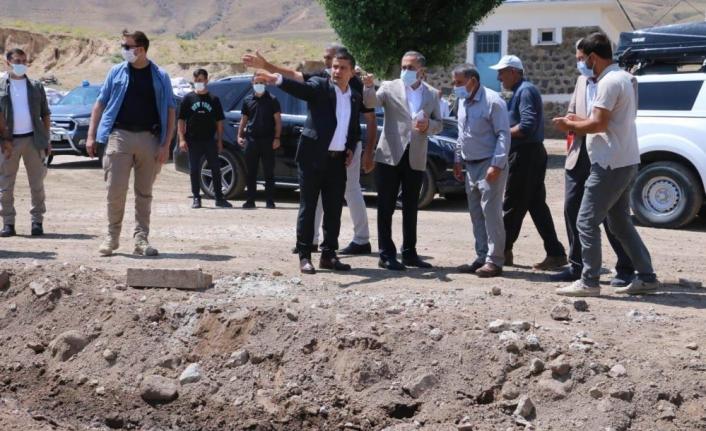 Milletvekili Arvas'tan, selden etkilenen mahallelere ziyaret