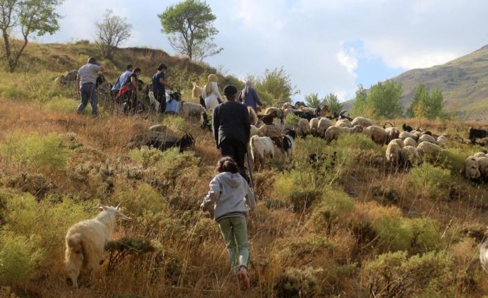 Sağlıkçılar dağ bayır demeden patikaları aşarak aşı yapıyor