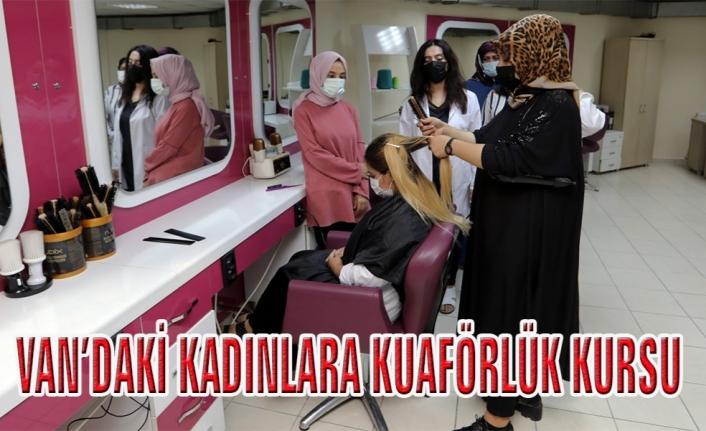 Van Büyükşehir'den, kadınlara ücretsiz kurs...