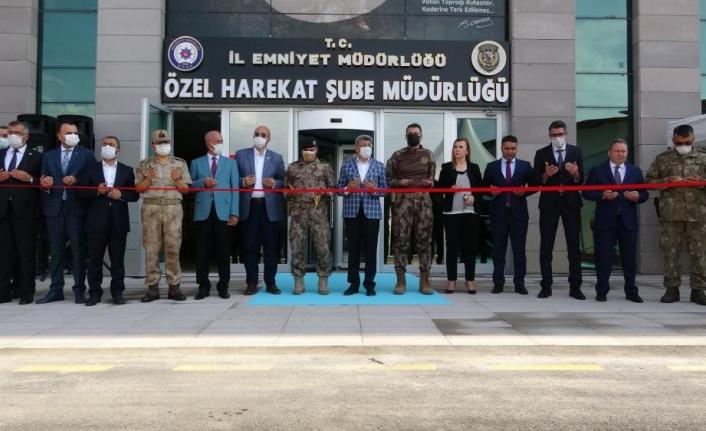 Van'da Özel Harekat Şube Müdürlüğü'nün hizmet binası açıldı