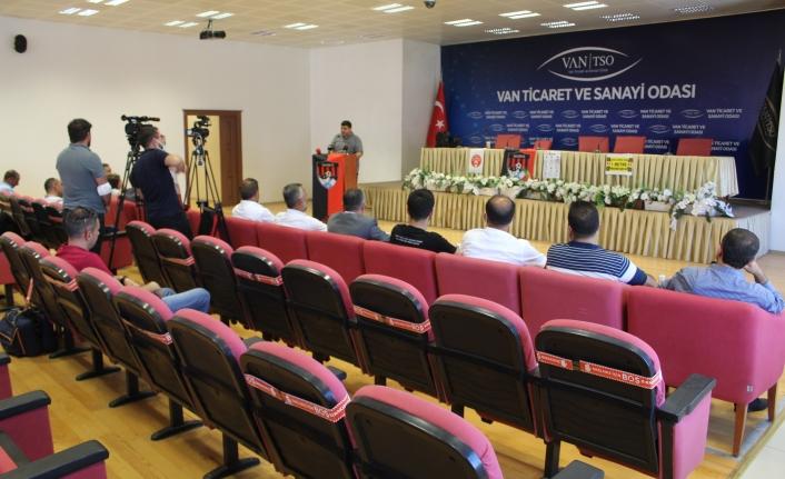 Vanspor'a kongrede yine aday çıkmadı