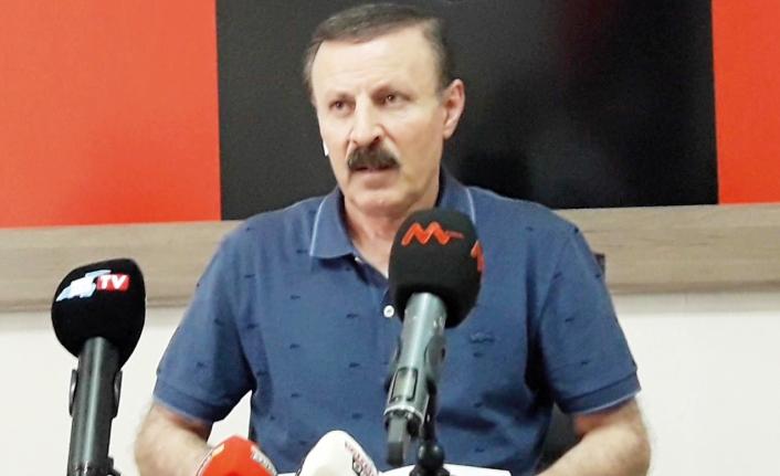 Yenitürk: Vanspor yönetiminden istifa ediyoruz