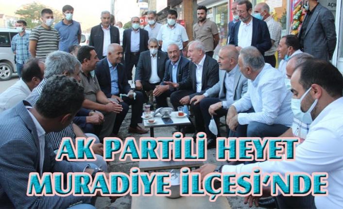 Ak Parti heyetinden Muradiye'ye ziyaret...