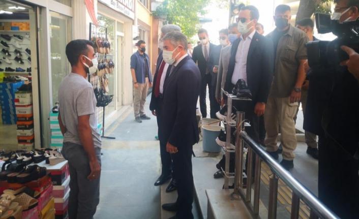Bakan Yardımcısı Nebati, Van esnafını ziyaret etti