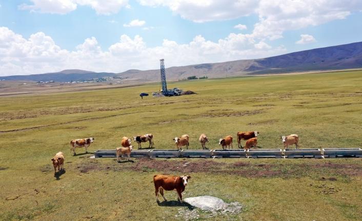 Büyükşehir kuraklık yaşayan mahallelere sondaj kuyuları açıyor
