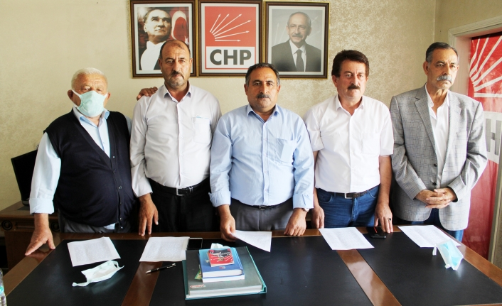 CHP'nin Van'daki 3 ilçe başkanı istifa etti