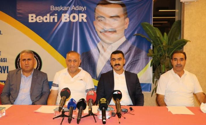Esnaf Bedri Bor, oda başkanlığına aday olduğunu açıkladı