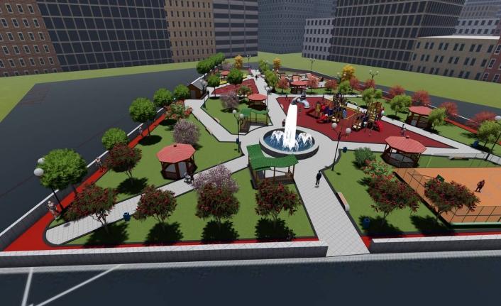 İpekyolu Belediyesi'nden ilçeye 15 yeni park