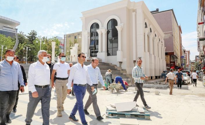 İpekyolu'ndaki Sanat Galerisi açılış için gün sayıyor