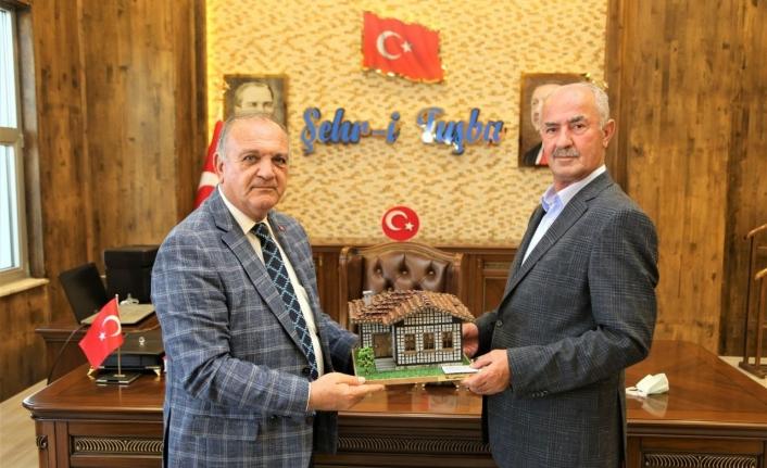 Kurdoğlu'ndan Başkan Akman'a teşekkür ziyareti