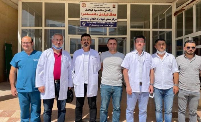 Özel Lokman Hekim Hastanesi Yönetimi'nden Kuzey Irak'a çıkarma