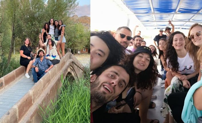 Sekiz Avrupa ülkesinden gelen gençler Van'ı gezdi