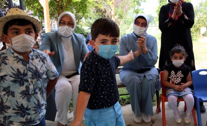 Sevgi evlerindeki çocuklar, Büyükşehir'in etkinliğinde moral buldu