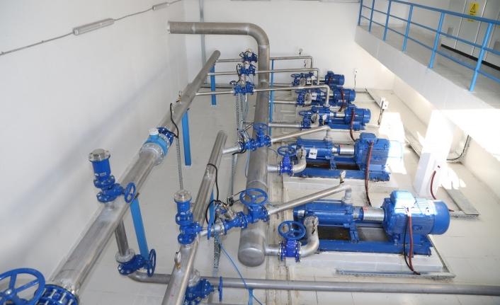 Su terfi merkezinde tadilat yapılacak