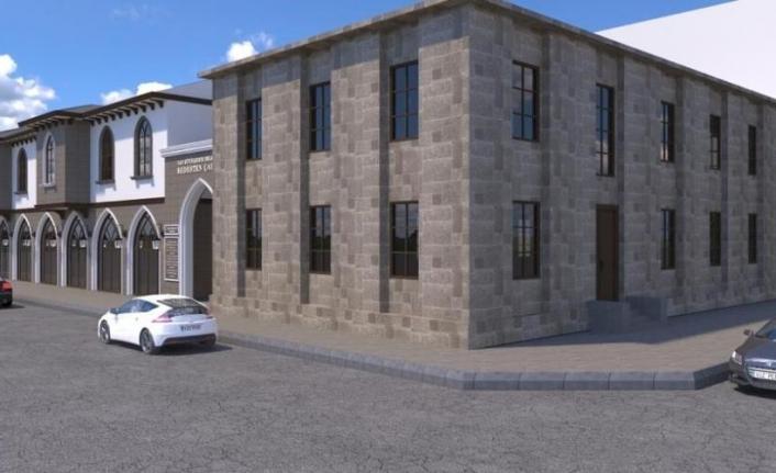 Tarihi tekel binası, Van'ın turizm merkezi oluyor