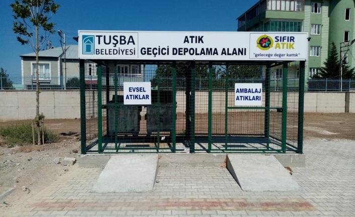 Tuşba Belediyesi'ne sıfır atık belgesi…