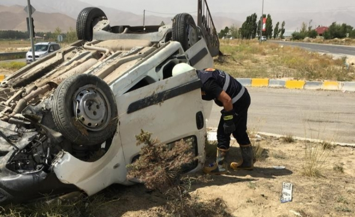 Van'da trafik kazası, 1 yaralı