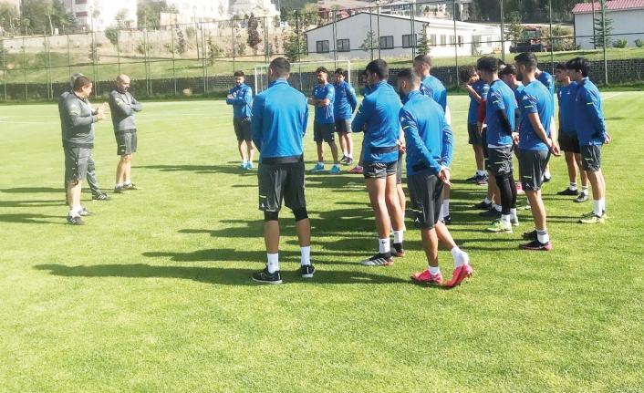 Vanspor'da kamp ve transfer çalışmaları…