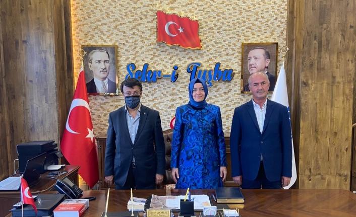 Ak Parti MKYK Üyesi Kaya'dan, Başkan Akman'a ziyaret...