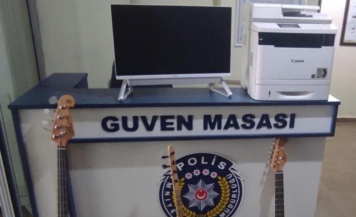 Başkale'de hırsızlık şüphelisi yakalandı