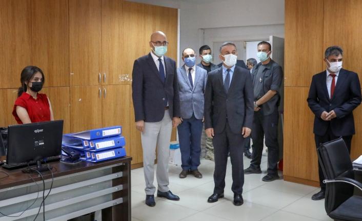Başkan Vekili Aydın, ilçede incelemelerde bulundu