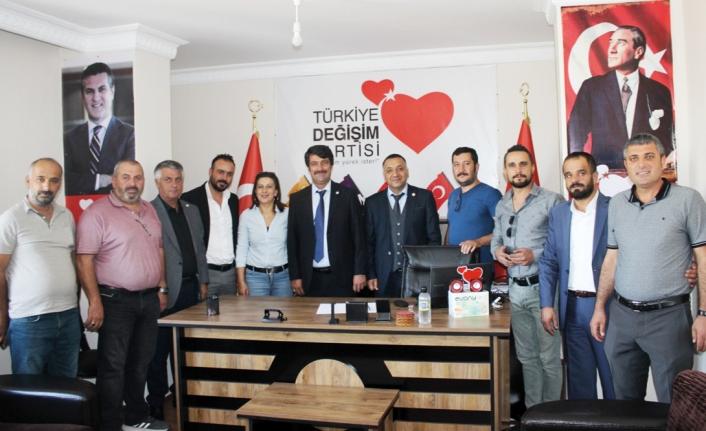 Bayri, yeniden Türkiye  Değişim Partisi Van İl Başkanı…