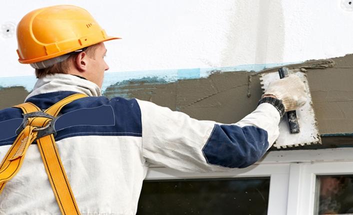 Dış cephe ve giriş beton zemin onarımı yapılacak