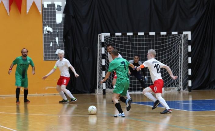Görme Engelli Futsal 1. Lig 1. devre müsabakaları Van'da devam ediyor
