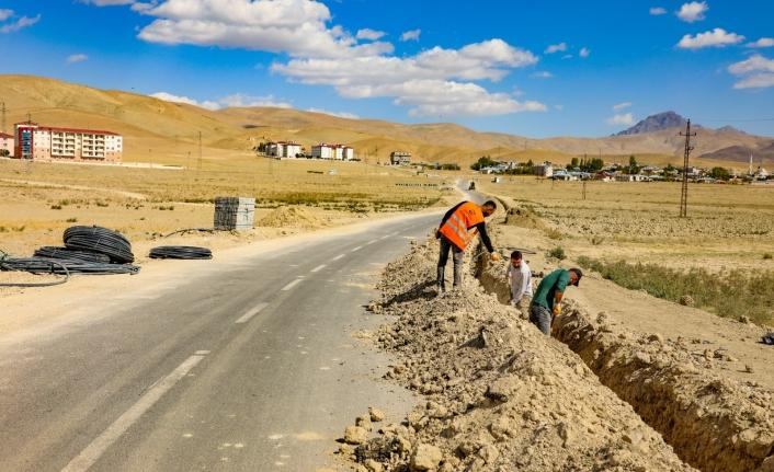 Gürpınar'da hastane yolu projesinin startı verildi
