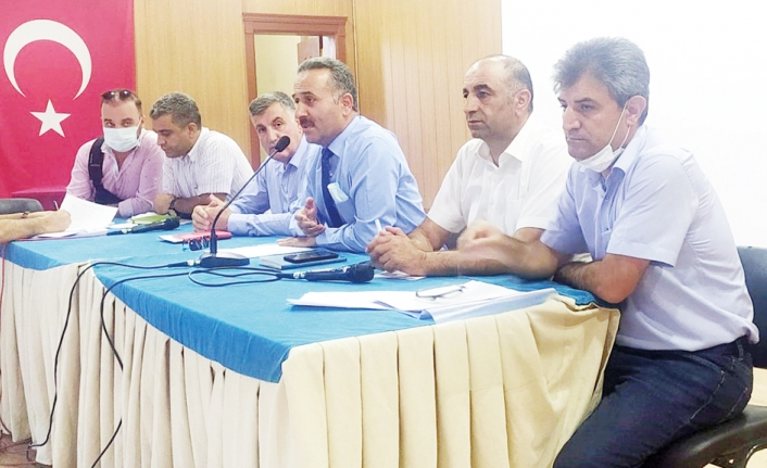 İpekyolu'nda Müdürler Kurulu Toplantısı yapıldı