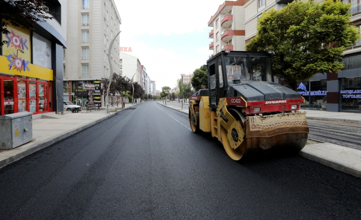Sıhke Caddesi de prestij cadde olma yolunda